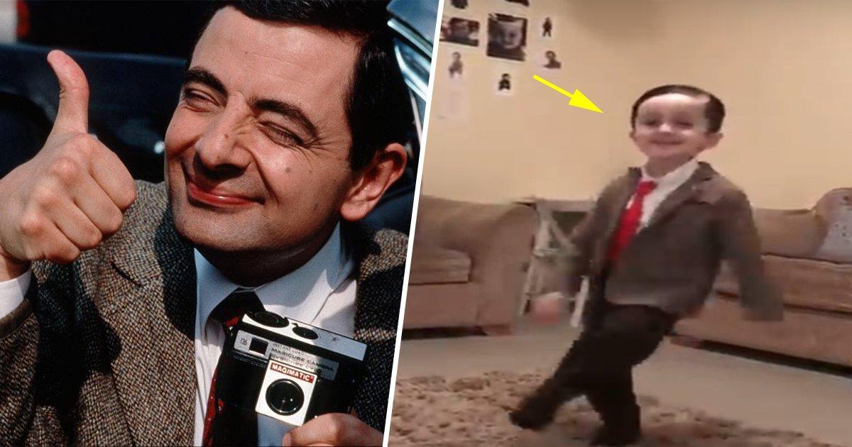 1ec8db8eb84ac 6.jpg?resize=1200,630 - Esse garotinho está encantando a todos com sua perfeita imitação do Mr. Bean!