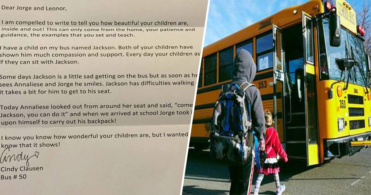 2ec8db8eb84ac 8.jpg?resize=412,232 - Bus Driver Sent Letter To Parents To Tell Them How Wonderful Their Kids Are