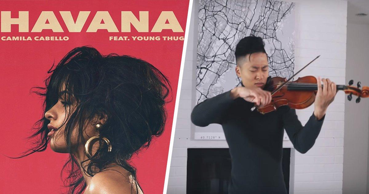 2ec8db8eb84ac.jpg?resize=1200,630 - [Vidéo] Cette reprise de 'Havana' au violon vous laissera hypnotisé.