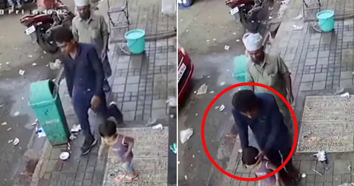 324 2 - Homem sequestra uma menina em 3 segundos... Na frente de seu pai! (vídeo)