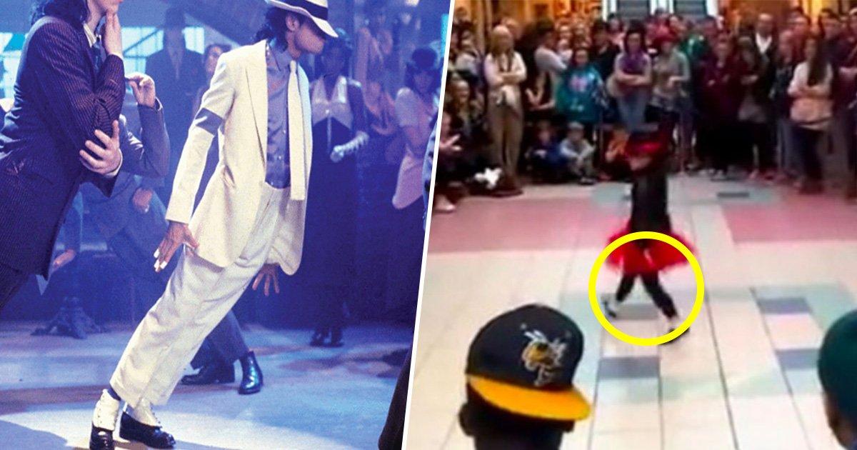 3ec8db8eb84ac 5.jpg?resize=300,169 - Menina faz um tributo de dança perfeito para Michael Jackson