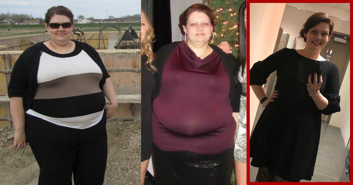 3simplethings.jpg?resize=1200,630 - Une femme perd 70 kilos après avoir fait ces 3 choses simples