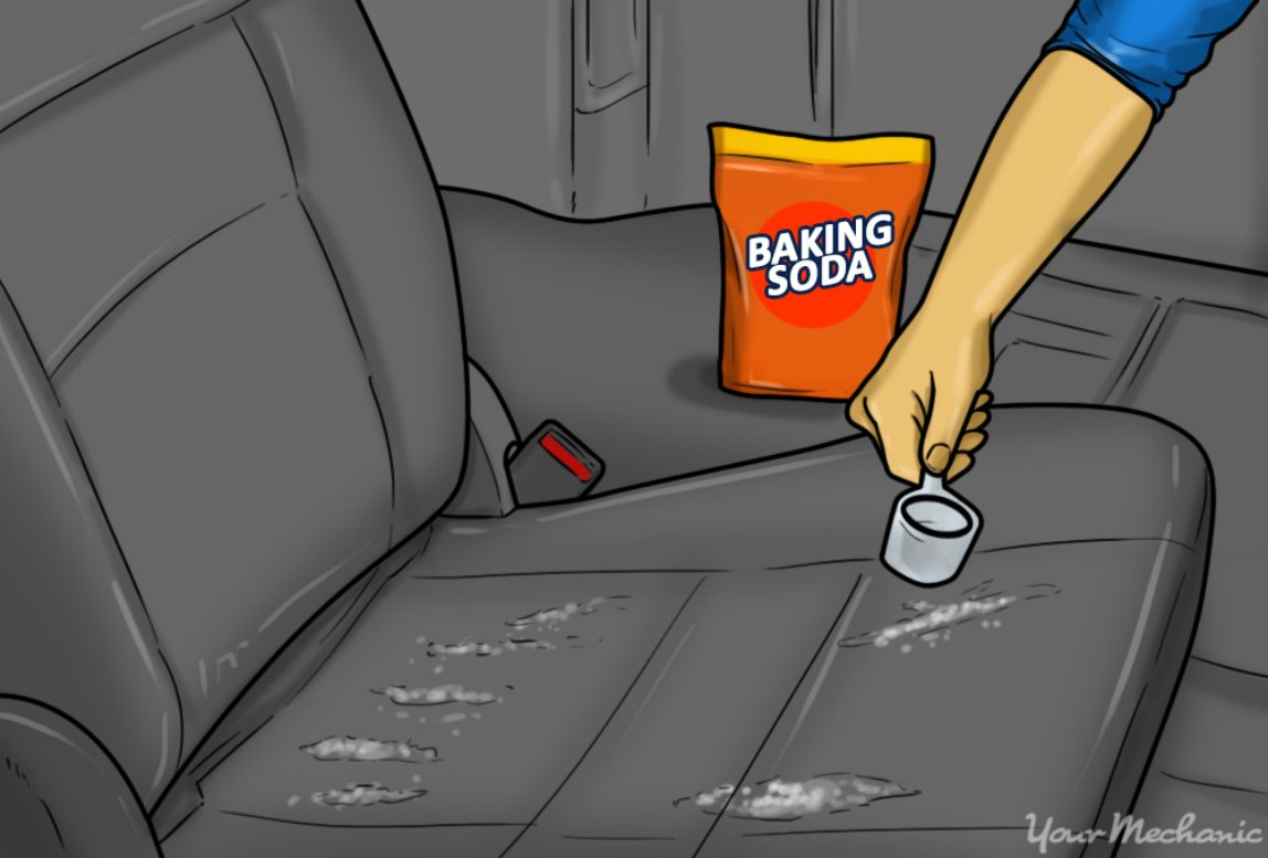 4-how-to-remove-the-odor-of-sour-milk-from-your-car-baking-soda-being-applied-to-a-car-seat