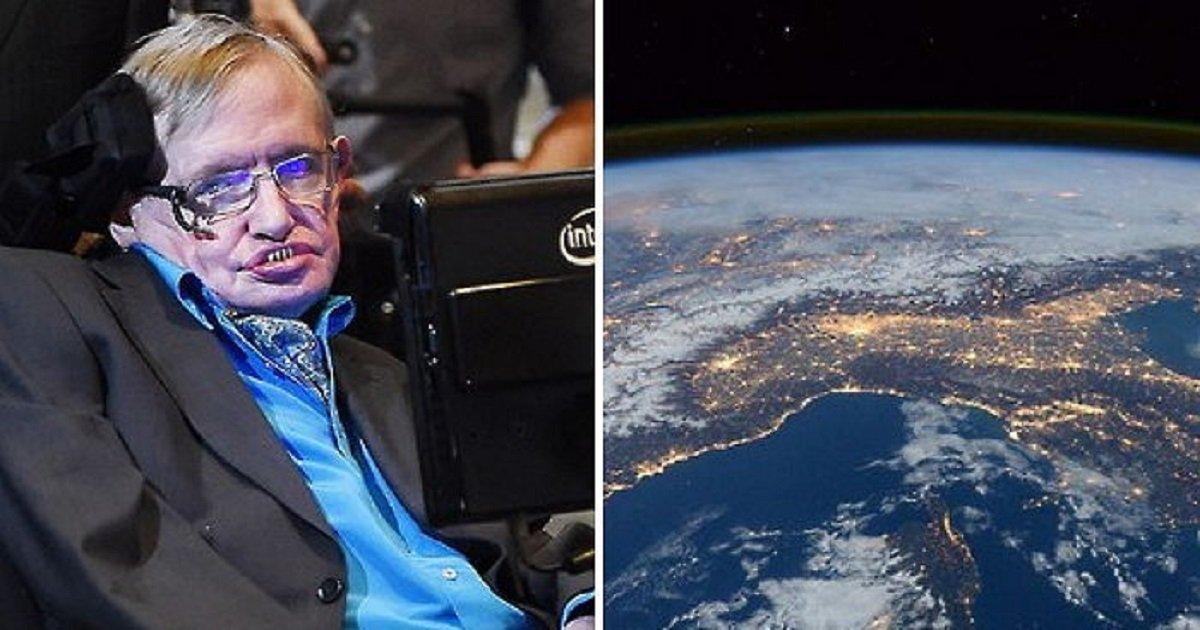 """4444 4 - """"30년 안에 지구를 떠나야 한다"""" 스티븐 호킹이 인류에게 전한 경고"""