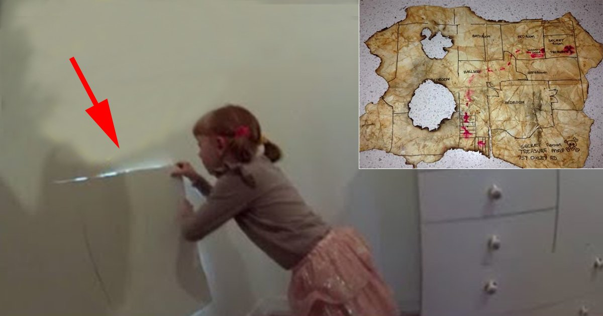 4ec8db8eb84ac 1 - Little Girl Unlocks Secret Room in Her House that Takes Her Into an Even Wider Surprise