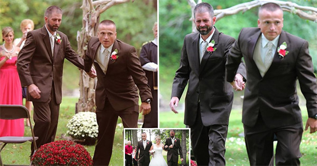 4ec8db8eb84ac 6.jpg?resize=412,275 - Bride And Her Two Dads Created A Heartwarming Moment At Her Wedding