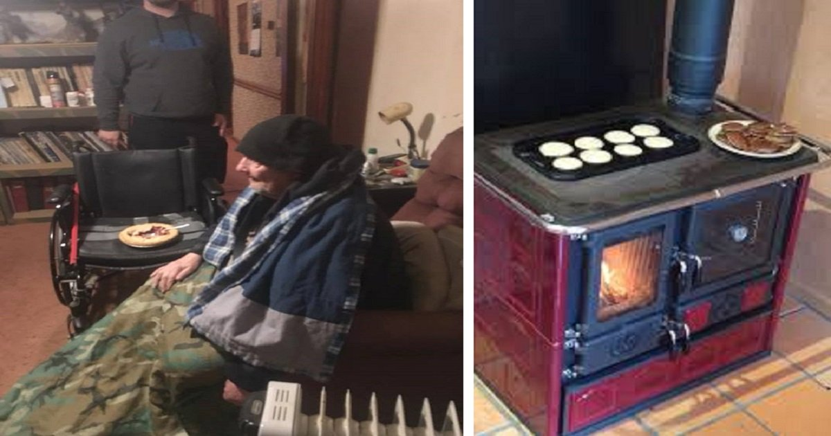 5j3 - Disabled Veteran Only Uses Kitchen Stove To Stay Warm In Home