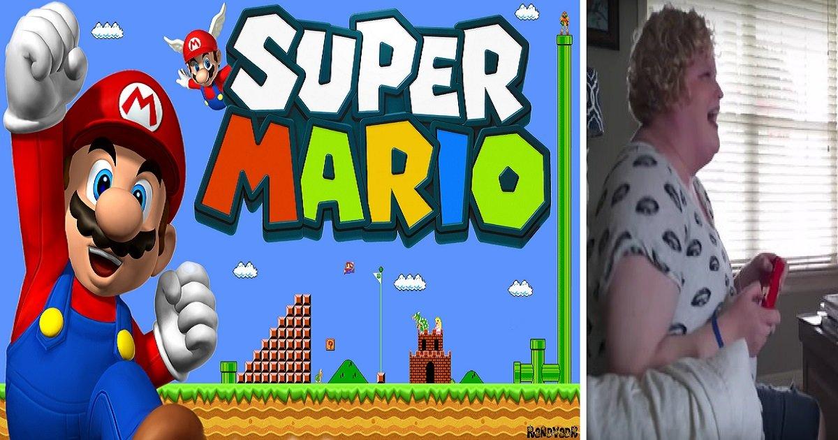 8kkkk - Esse cara pediu sua namorada em casamento através do jogo do Super Mario!