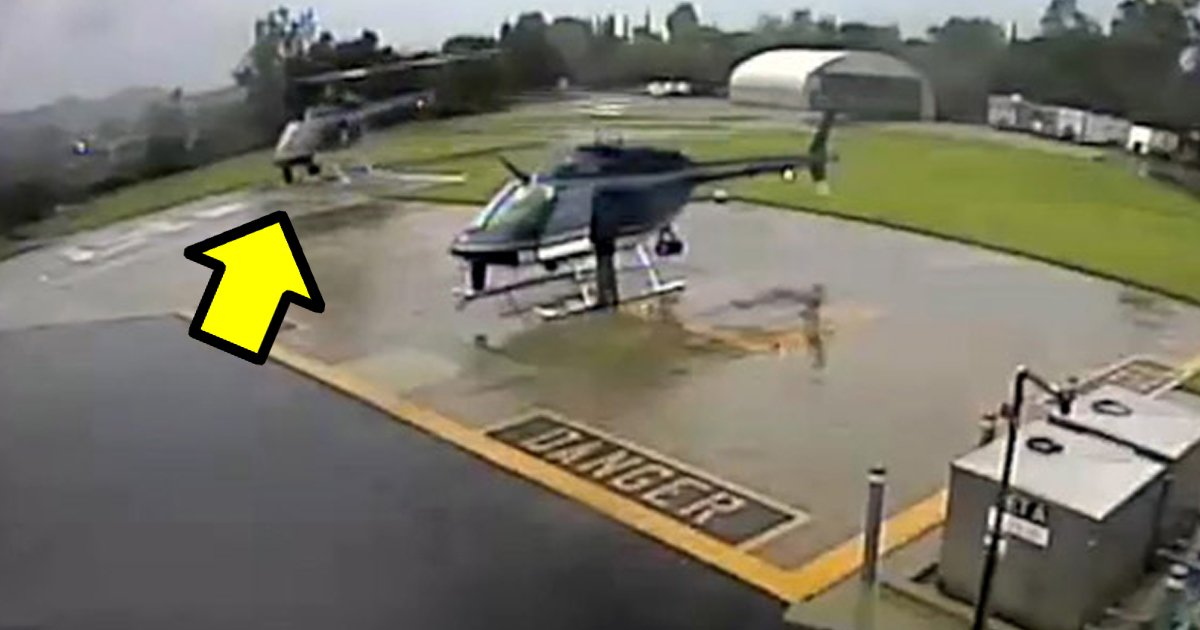 """9 121 - """"너무 가까워""""... 미국 경찰 헬리콥터 충돌 순간(영상)"""
