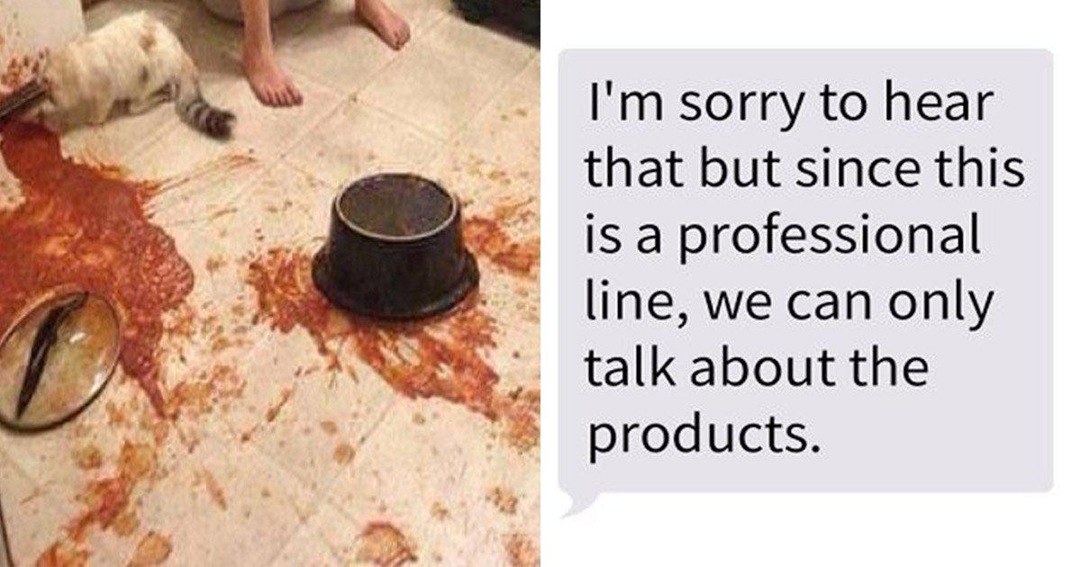 9ec8db8eb84ac.jpg?resize=412,232 - Un homme déprimé décide de contacter un fabricant de pâtes plutôt qu'une ligné d'écoute. Découvrez leur réponse...