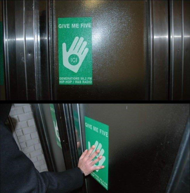3956760 ascenseur 694316 1518418101 650 182db971f5 1519920638 - 15 increíbles y creativos anuncios publicitarios colocados en ascensores que te sorprenderán