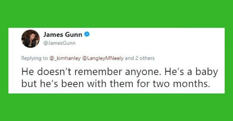 47826fed b9d1 47e7 99d1 0f12177e3efb - James Gunn Shocked Fans When He Revealed That Groot Is Dead And That Baby Groot Is His Son