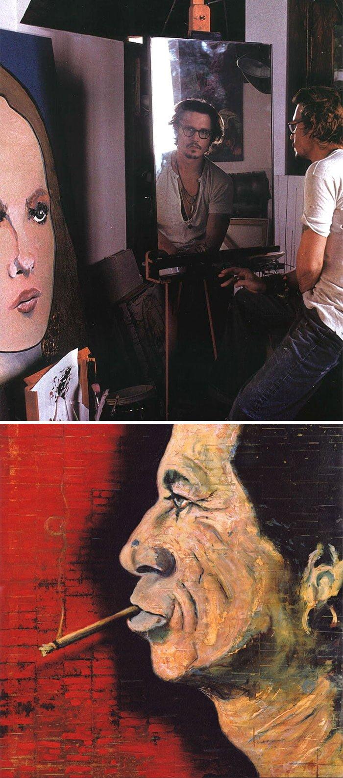 a0KQ9QQ 700b - ¿Podías imaginarte que estas celebridades sabían pintar? Aquí te mostraremos sus increíbles obras.