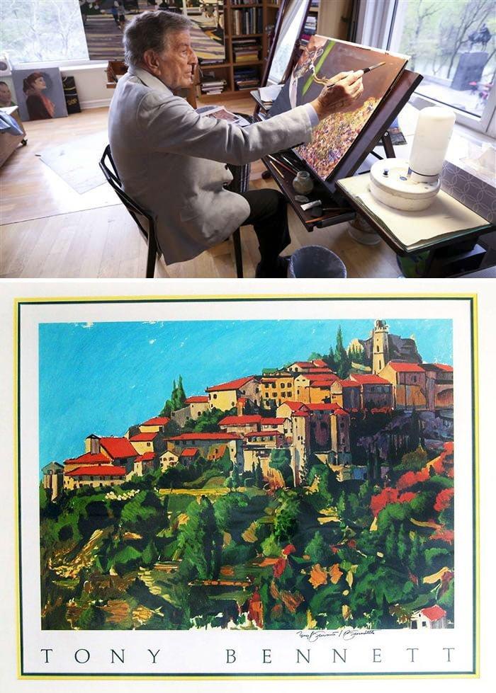 aGjZ9Z5 700b - ¿Podías imaginarte que estas celebridades sabían pintar? Aquí te mostraremos sus increíbles obras.