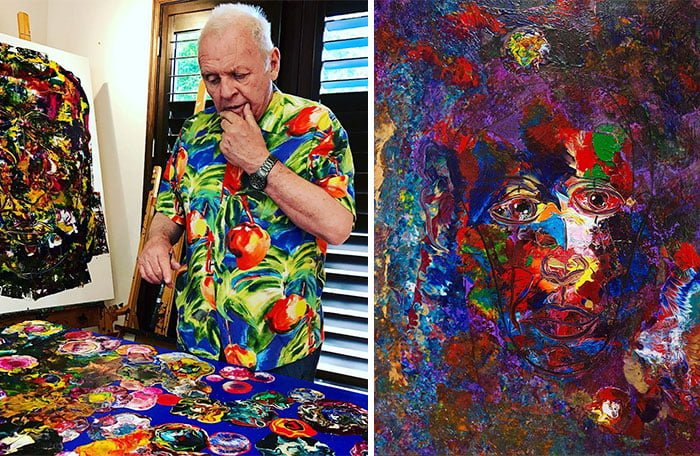 aN1YeYw 700b - ¿Podías imaginarte que estas celebridades sabían pintar? Aquí te mostraremos sus increíbles obras.