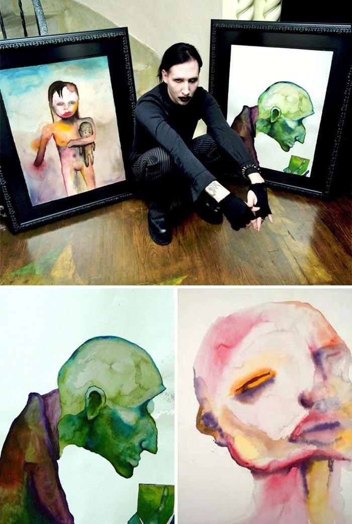 aOrYqYr 700b - ¿Podías imaginarte que estas celebridades sabían pintar? Aquí te mostraremos sus increíbles obras.