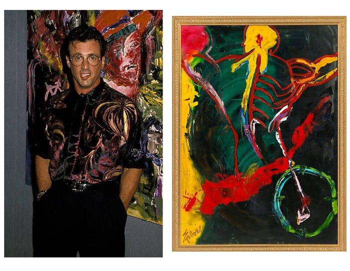 aR31Q17 700b - ¿Podías imaginarte que estas celebridades sabían pintar? Aquí te mostraremos sus increíbles obras.