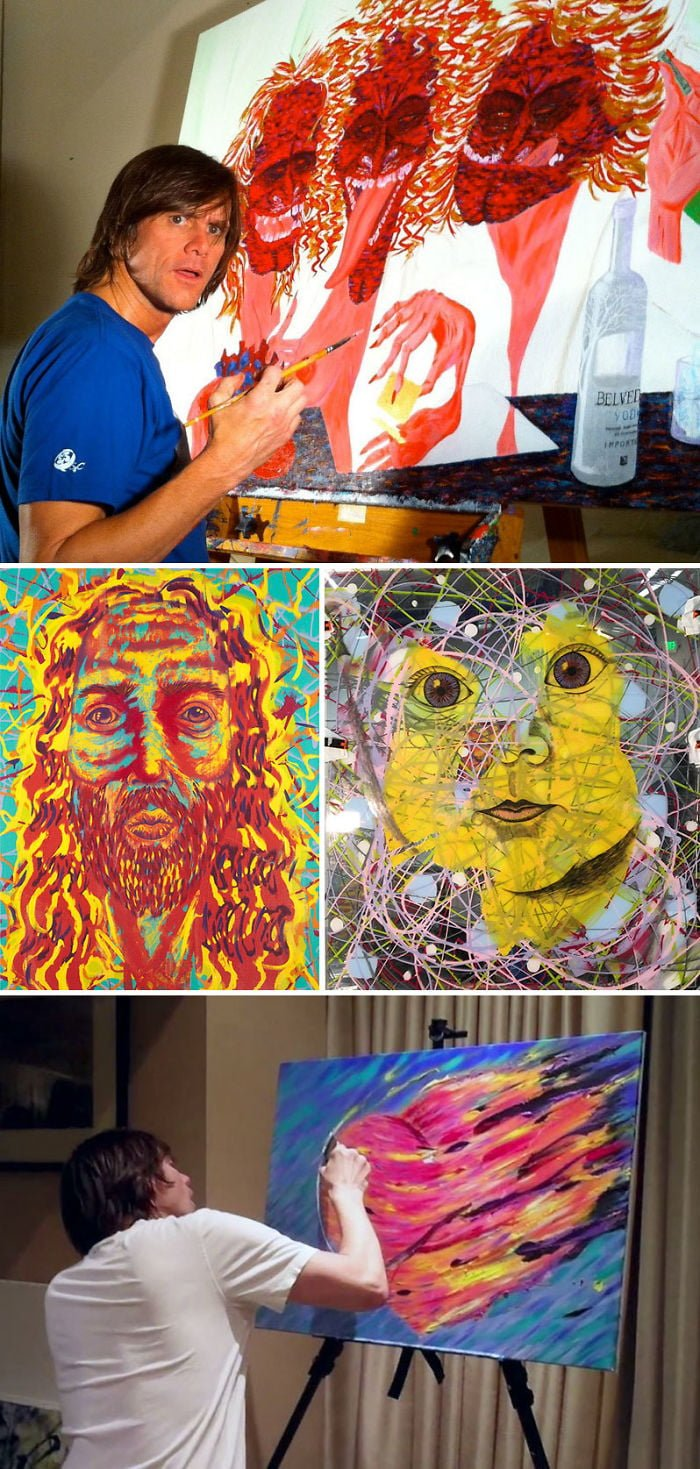 aYgYbY7 700b - ¿Podías imaginarte que estas celebridades sabían pintar? Aquí te mostraremos sus increíbles obras.