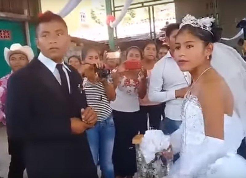 """boda arreglada novios e1520543077778 - """"La boda más triste de México"""", el caso que se ha vuelto viral en Internet"""