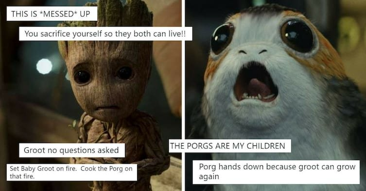dbf2efe9 ebdd 442b b3a4 cfb4e4330600 - James Gunn Shocked Fans When He Revealed That Groot Is Dead And That Baby Groot Is His Son