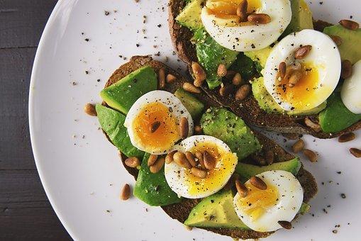 음식, 달걀, 토스트, 빵, 아보카도, 건강에 좋은 음식, 다이어트