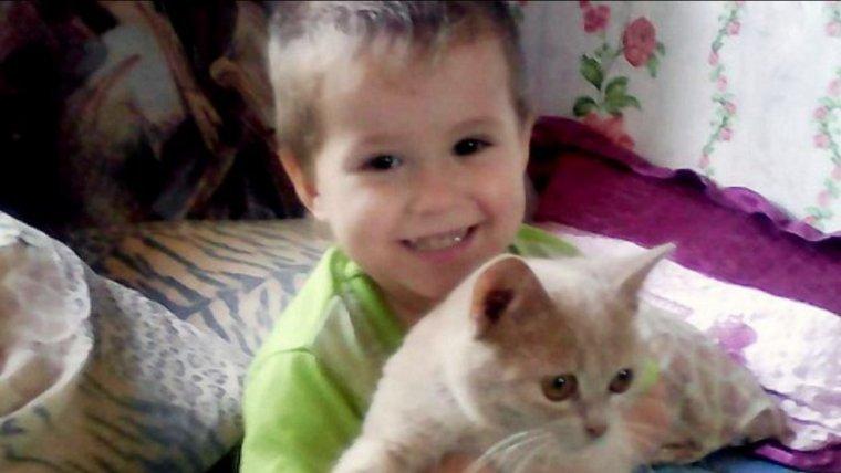 imagen de Bogdan, el niño ruso de 4 años que ha muerto congelado