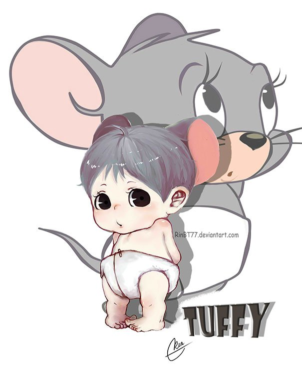 Tuffy Mouse From Tom And Jerry
