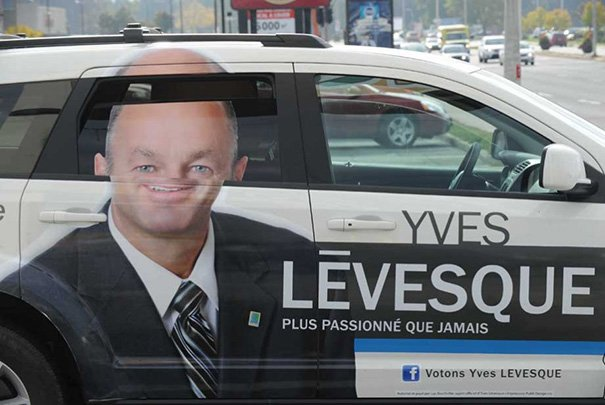 Vote For Yves Lévesque, Official Facefolding Candidate