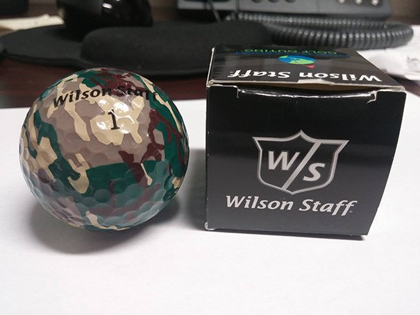 I Received The Most Useless Item Ever At A Golf Tournament
