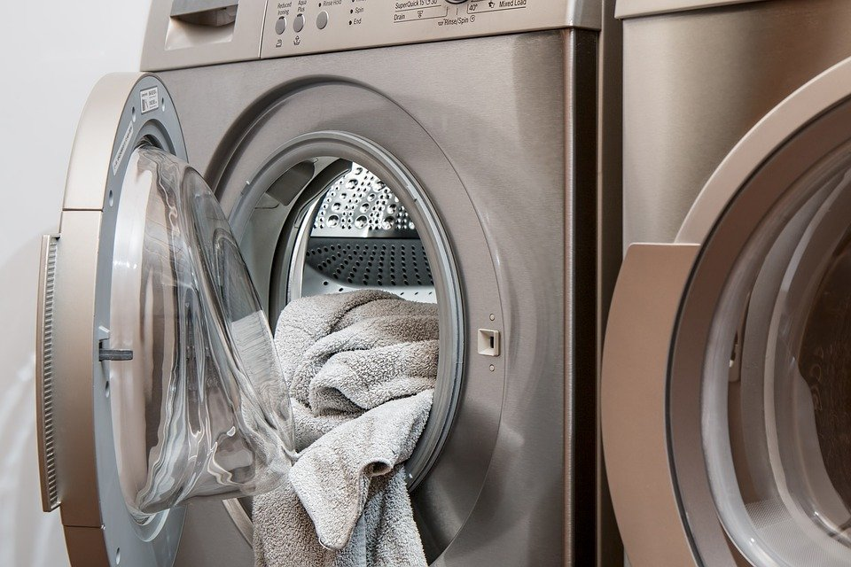 세탁기, 세탁, 전락 건조기, 안일, 어플 라이언 스, 깨끗한, 워시, 옷, 집안일, 더러운, 가정