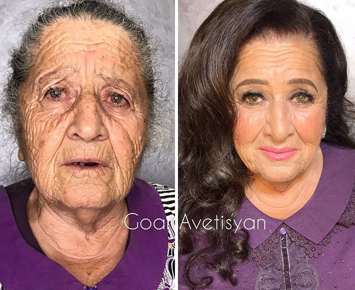 women make up transformation goar avetisyan 14 5a97b514089af  700 - These 30 Examples Show How Skillful Makeup Worked Some Amazing Magic On These Women