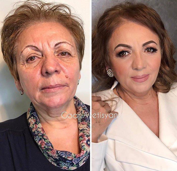 Esta maravilhosa mulher obteve uma transformação verdadeiramente surpreendente