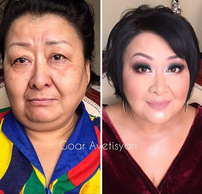 women make up transformation goar avetisyan 6 5a97b625b4bdf  700 - These 30 Examples Show How Skillful Makeup Worked Some Amazing Magic On These Women