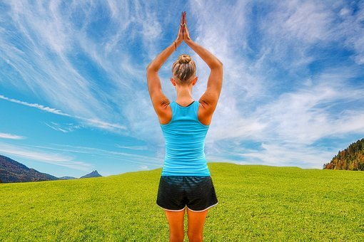 요가, 운동, 건강, 균형, 물론, 건강 한, 스포츠, 휴식, 피트니스