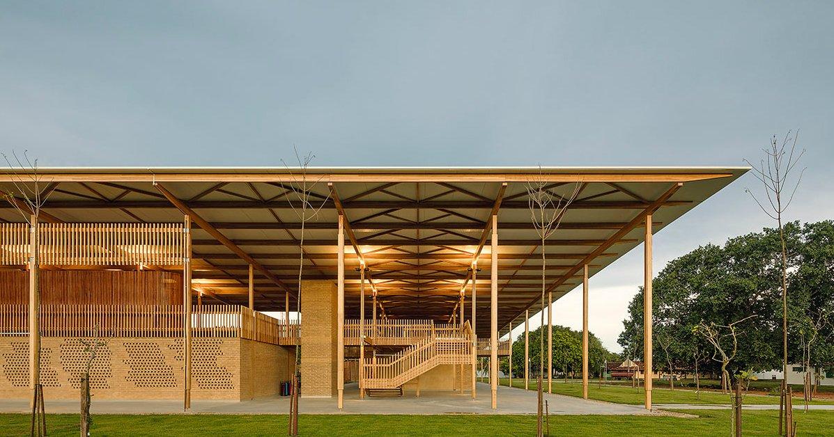 arq 87439 - Escola rural de Tocantins ganha prêmio de melhor projeto arquitetônico