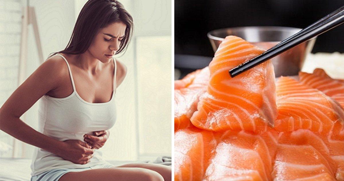 article thumbnail 42 - 일주일에 한 번 '연어' 먹으면 '생리통' 완화시킬 수 있는 이유