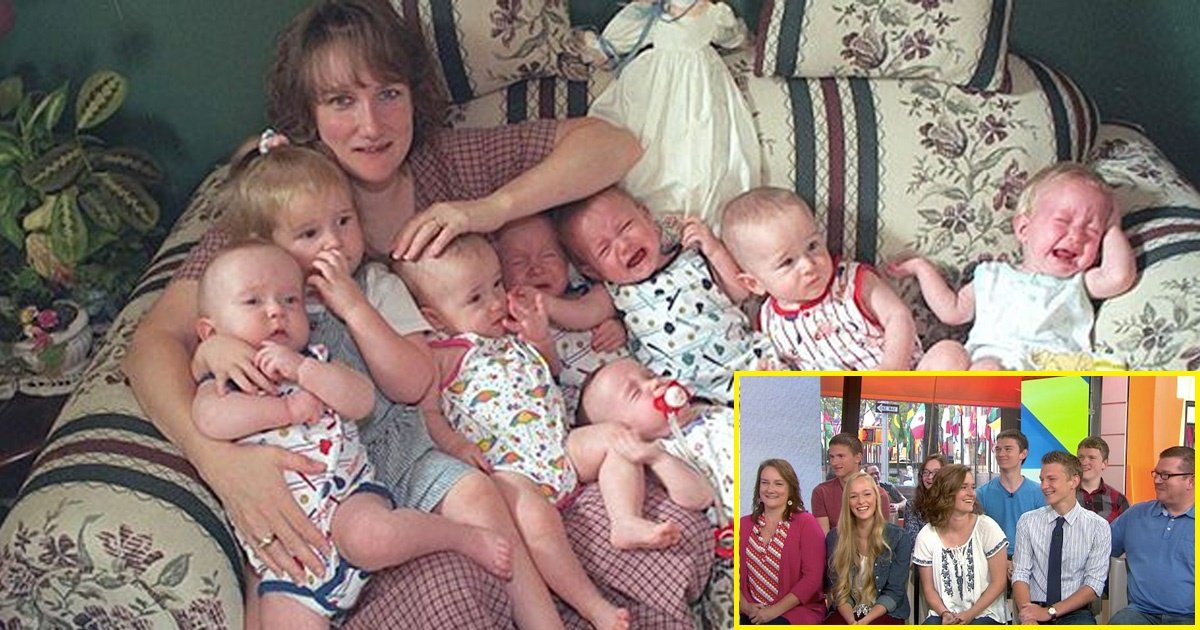 babies - The McCaughey Septuplets Arrived on this Planet 20 Years Ago. See what they are Doing Right Now.
