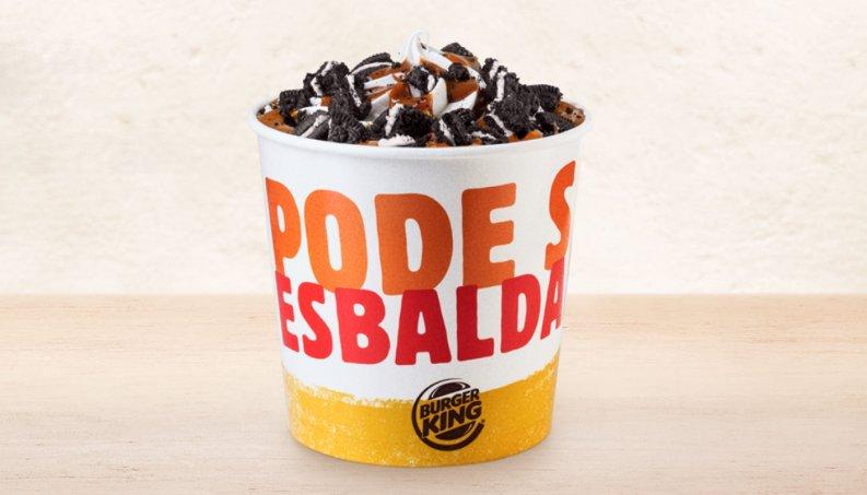 balde sorvete bk 0318 1400x800.png?resize=412,232 - Burger King lança balde de quase 1 litro de sorvete de Oreo com doce de leite