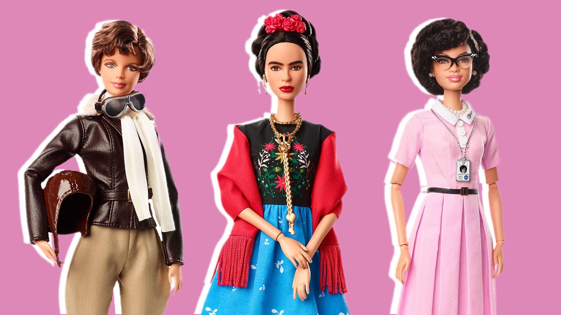 barbie inspiring women today 180306 tease 31efde7741ce291ab1d34d9e4599e4d7 - Barbie lança bonecas inspiradas em ícones femininos que fizeram história
