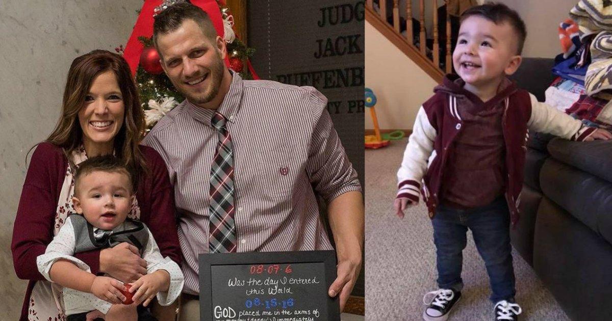 beingadopted.jpg?resize=1200,630 - La réaction de ce petit garçon après avoir été adopté officiellement a fait pleurer tout le monde
