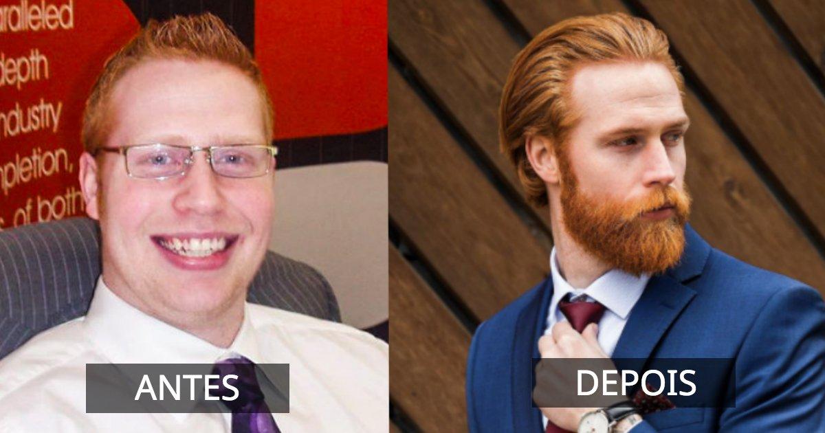bf.jpg?resize=1200,630 - Homem acima do peso não fazia ideia de que sua barba mudaria a sua vida