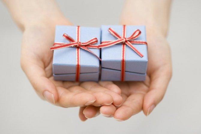 渡すプレゼント