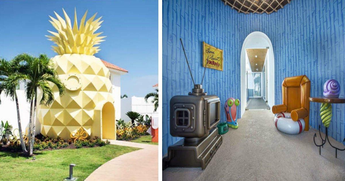 bob - Resort em Punta Cana tem suíte inspirada em Bob Esponja