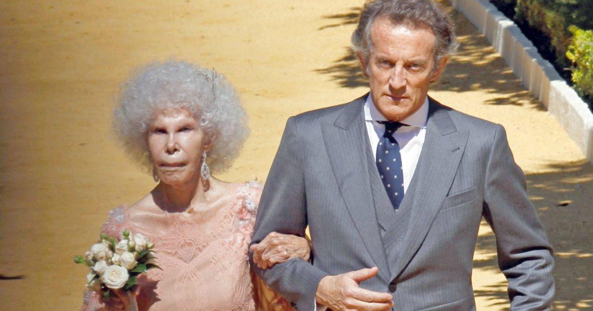 bodas.png?resize=1200,630 - A história de Alfonso Díez e da 18ª Duquesa de Alba prova que amor vale mais que dinheiro