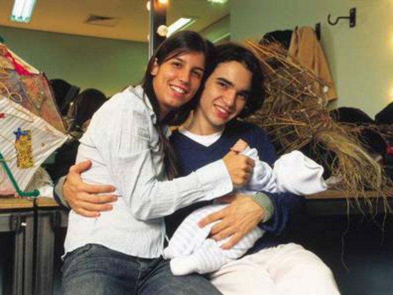 caio2 - Caio Blat posta foto de reencontro com filho adotivo