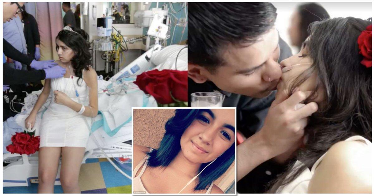 cancerthumb - Atteinte d'un cancer, elle se marie quelques jours avant de s'éteindre.