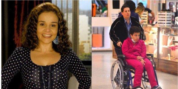 claudia rodrigues 2 - Com esclerose múltipla, atriz Claudia Rodrigues volta ser internada