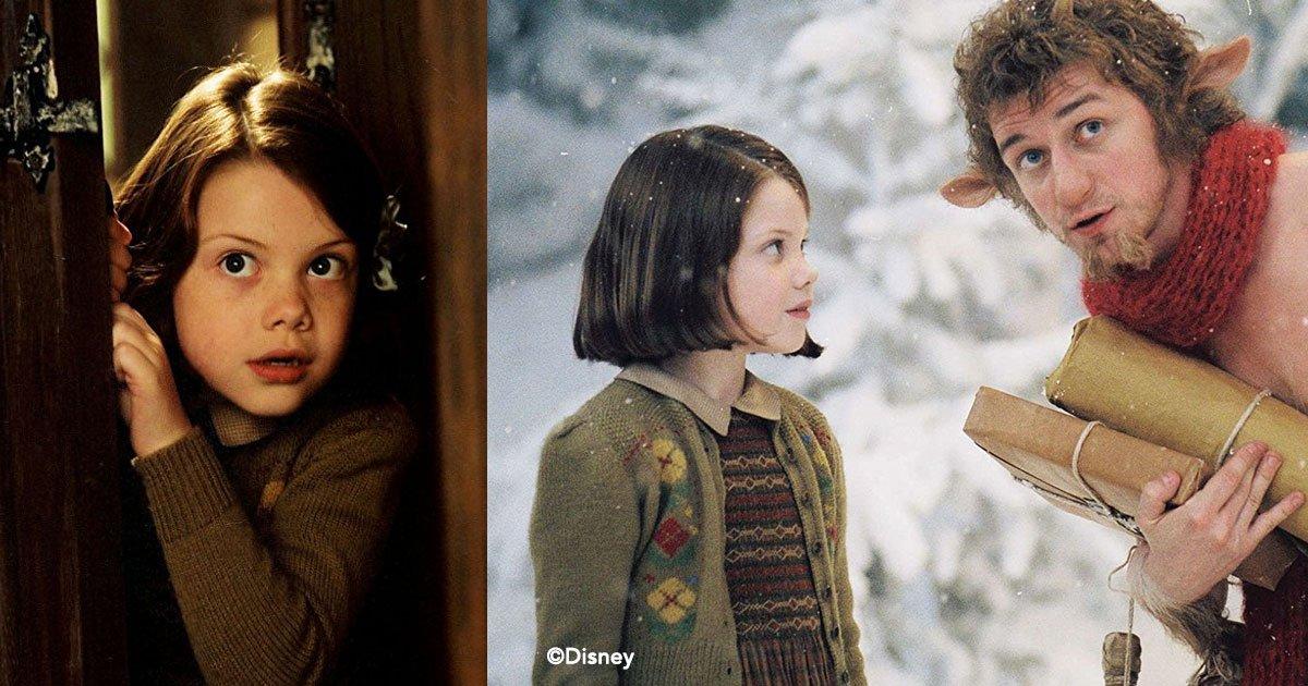 """cover 2 - Georgie Henley interpretó a la pequeña Lucy en """"Narnia"""" y fue víctima de bullying por culpa de la fama"""