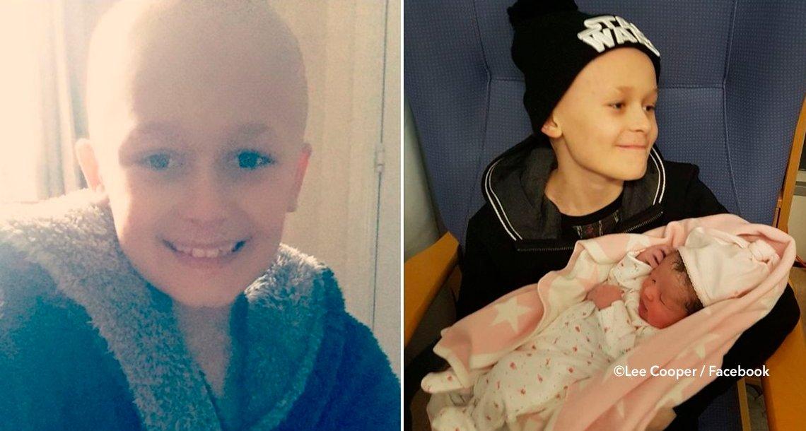 cover 4bebebs - Un niño con cáncer luchó lo suficiente para conocer a su hermanita, su valiente historia te conmoverá