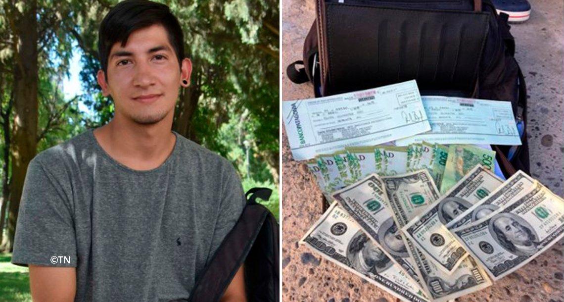 cover 4din.png?resize=1200,630 - Ele encontrou $150,000 na rua e os devolveu - por causa disso, ganhou uma recompensa!